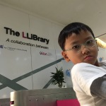 Spelling woes at The LLiBrary