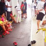 Singapore Taekwondo Federation 如何治娇生惯养的小孩