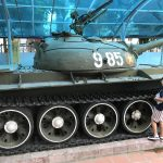 What a wreck at Hanoi Army Museum